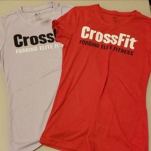 Bundle of 2 Reebok Crossfit shirts